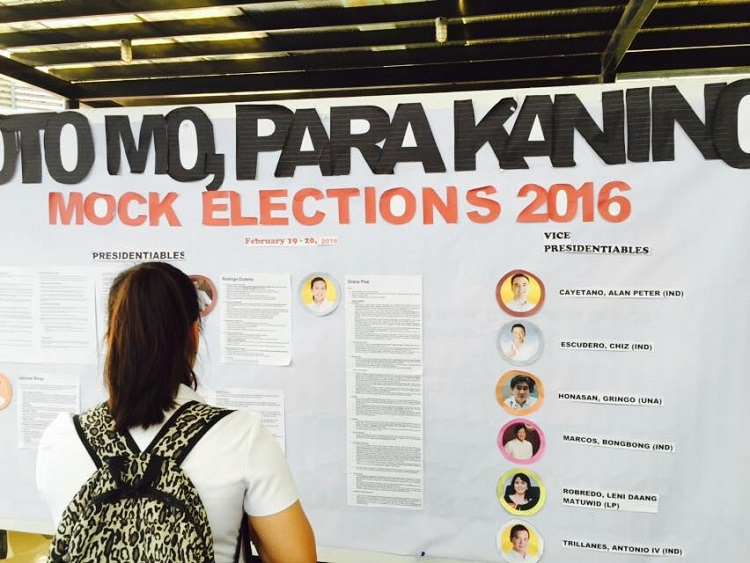 Xavier University - XU releases results of mock polls