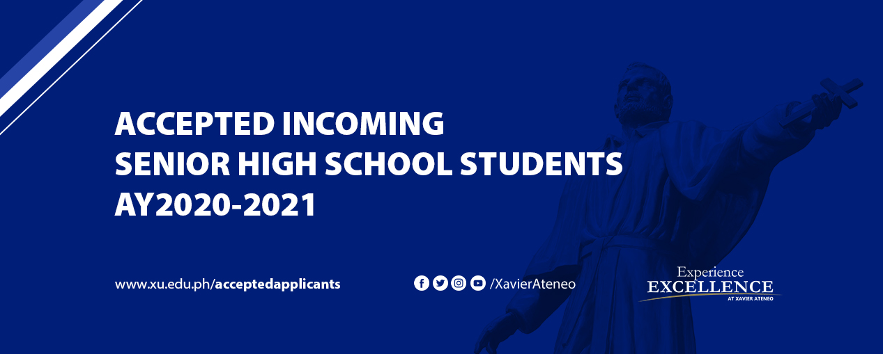 Accepted Applicants Cover Image SHS