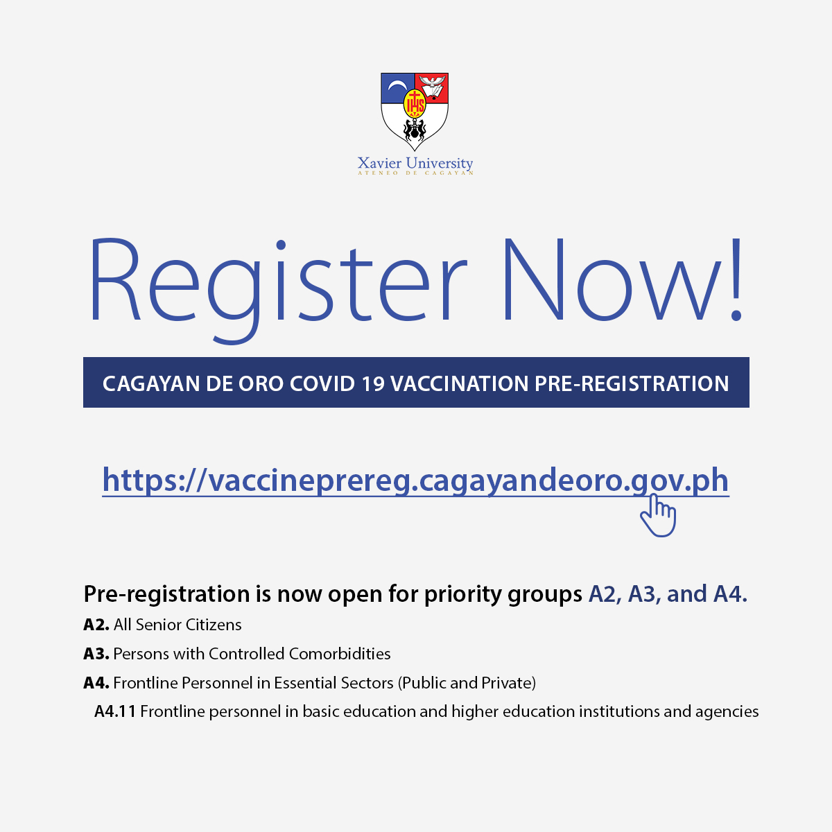 Vaccination Pre Registration