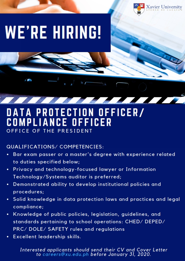 Data Protection Officer 001